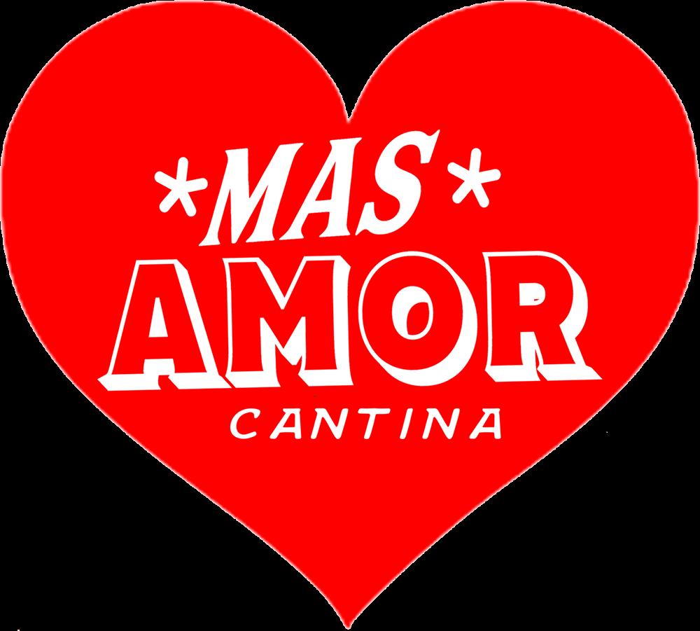 mas amor cantina heart logo